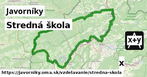 ilustračný obrázok k Stredná škola, Javorníky