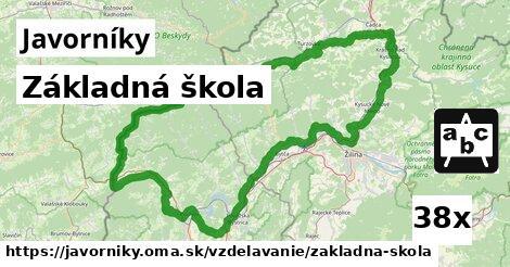 ilustračný obrázok k Základná škola, Javorníky