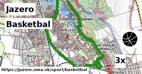 ilustračný obrázok k Basketbal, Jazero