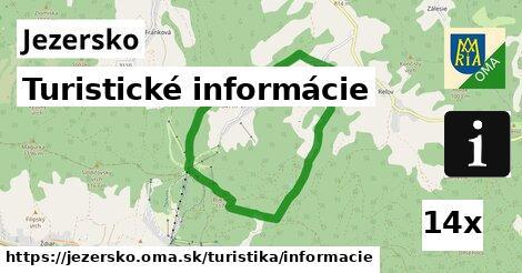 turistické informácie v Jezersko