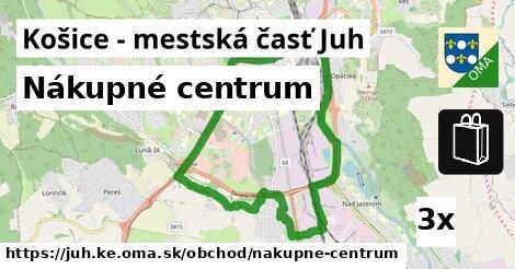 ddd08c0cc0498 Nákupné centrum, Košice - mestská časť Juh - oma.sk
