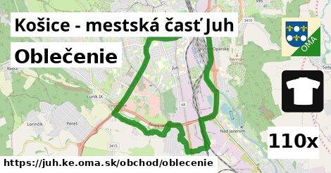 oblečenie v Košice - mestská časť Juh