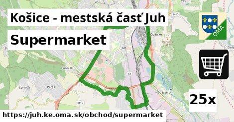 supermarket v Košice - mestská časť Juh
