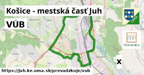 VÚB v Košice - mestská časť Juh
