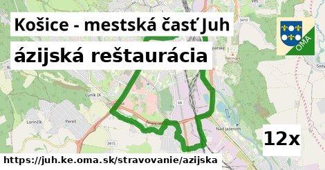 ázijská reštaurácia v Košice - mestská časť Juh