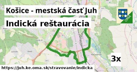 indická reštaurácia v Košice - mestská časť Juh