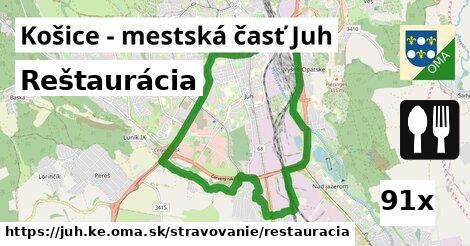 reštaurácia v Košice - mestská časť Juh