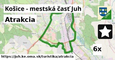 atrakcia v Košice - mestská časť Juh