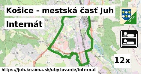ilustračný obrázok k Internát, Košice - mestská časť Juh