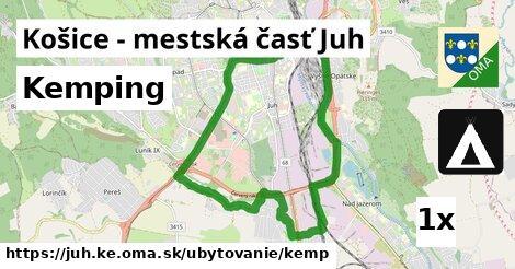 ilustračný obrázok k Kemping, Košice - mestská časť Juh
