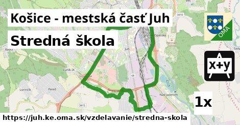 ilustračný obrázok k Stredná škola, Košice - mestská časť Juh