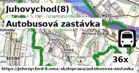 autobusová zastávka v Juhovychod(8)
