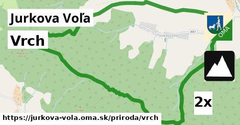 ilustračný obrázok k Vrch, Jurkova Voľa
