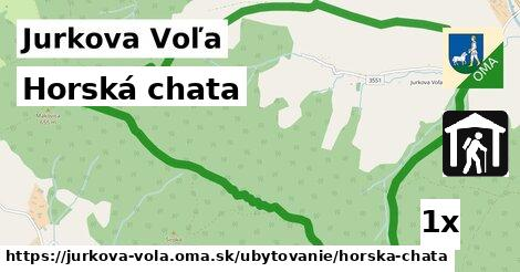 ilustračný obrázok k Horská chata, Jurkova Voľa