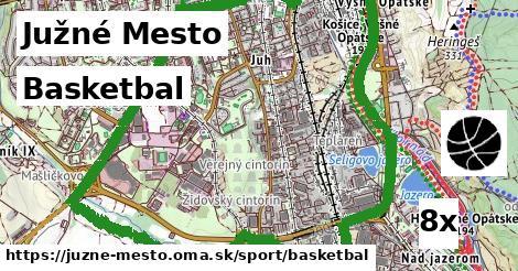 ilustračný obrázok k Basketbal, Južné Mesto