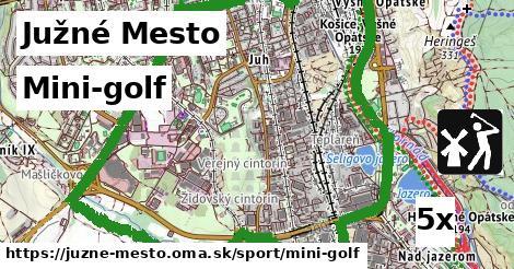 mini-golf v Južné Mesto