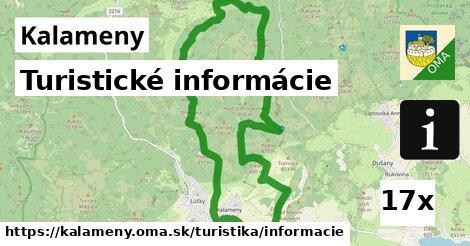 ilustračný obrázok k Turistické informácie, Kalameny