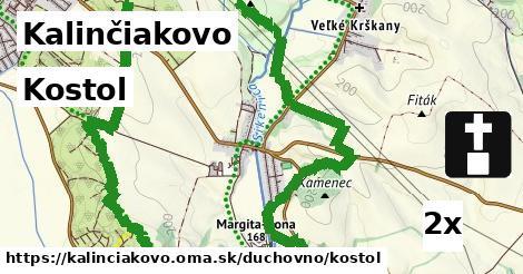 kostol v Kalinčiakovo