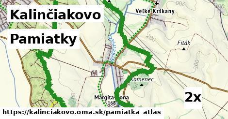 pamiatky v Kalinčiakovo