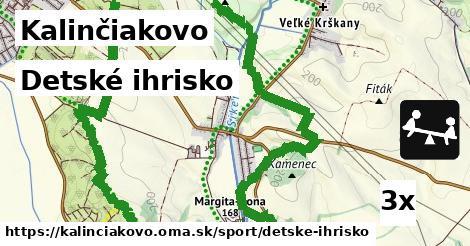 detské ihrisko v Kalinčiakovo