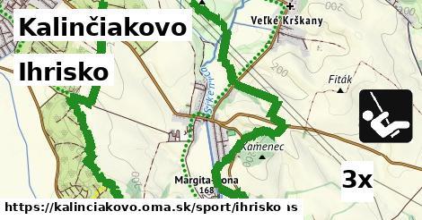 ihrisko v Kalinčiakovo