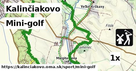 mini-golf v Kalinčiakovo