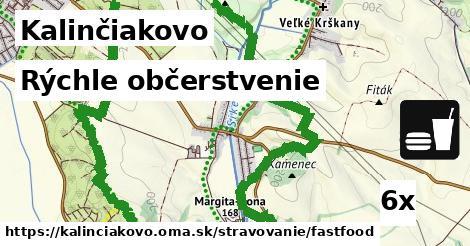 rýchle občerstvenie v Kalinčiakovo