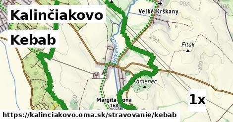 kebab v Kalinčiakovo