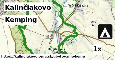 kemping v Kalinčiakovo