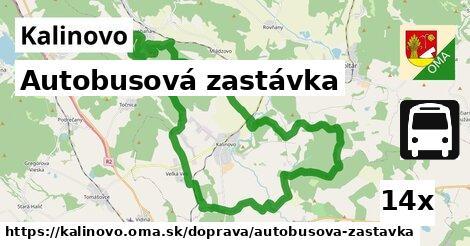 ilustračný obrázok k Autobusová zastávka, Kalinovo