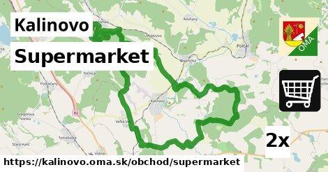 ilustračný obrázok k Supermarket, Kalinovo