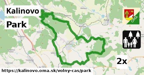 ilustračný obrázok k Park, Kalinovo