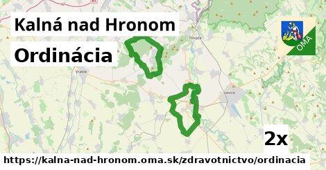 ordinácia v Kalná nad Hronom