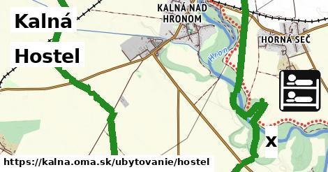 hostel v Kalná