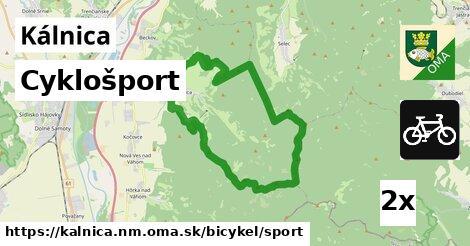 cyklošport v Kálnica