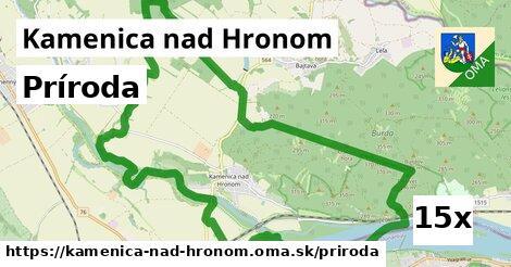príroda v Kamenica nad Hronom
