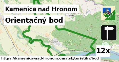 orientačný bod v Kamenica nad Hronom