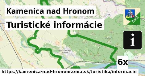 turistické informácie v Kamenica nad Hronom