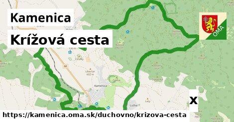 krížová cesta v Kamenica