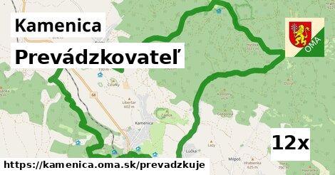 prevádzkovateľ v Kamenica