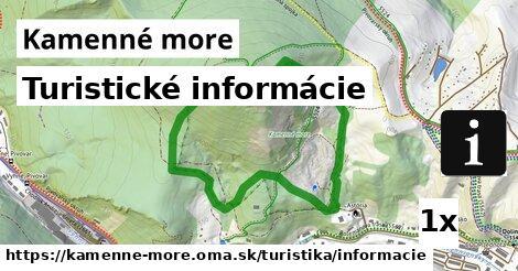 turistické informácie v Kamenné more