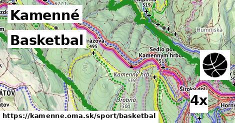 basketbal v Kamenné