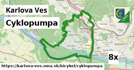 cyklopumpa v Karlova Ves
