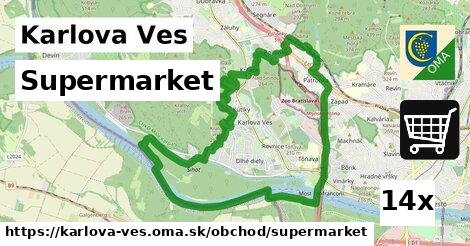 supermarket v Karlova Ves