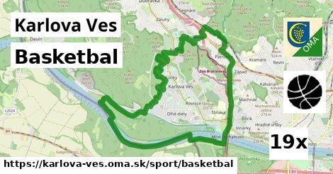 basketbal v Karlova Ves