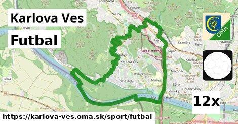 futbal v Karlova Ves