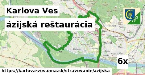 ázijská reštaurácia v Karlova Ves