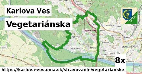 ilustračný obrázok k Vegetariánska, Karlova Ves