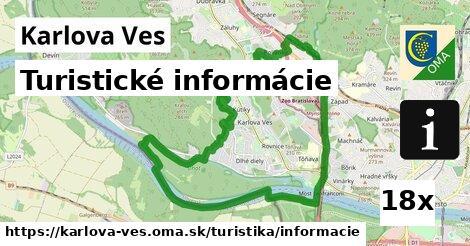 turistické informácie v Karlova Ves