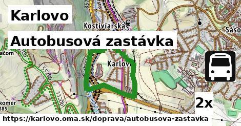 ilustračný obrázok k Autobusová zastávka, Karlovo